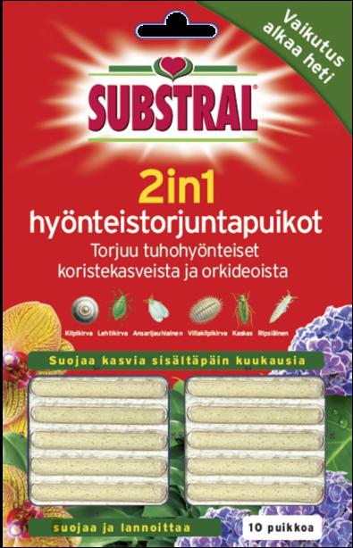 Substral 2in1 Hyönteistorjuntapuikko