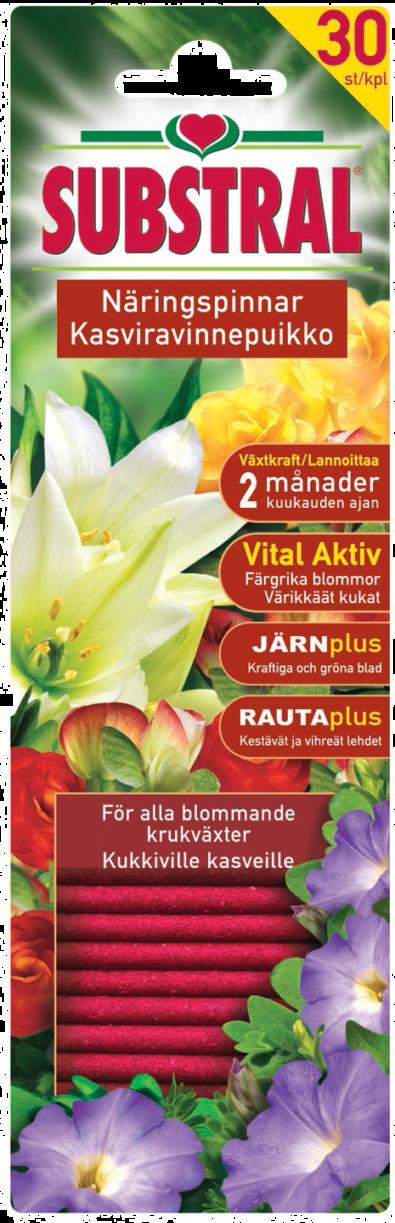 Substral Kasviravinnepuikko kukkiville kasveille