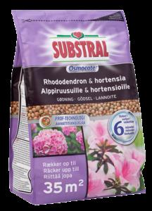 Substral Osmocote lannoite alppiruusuille ja hortensioille