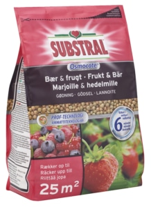 Substral Osmocote ravinne marjoille ja hedelmille