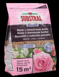 Substral Osmocote lannoite ruusuille ja kukkiville kasveille